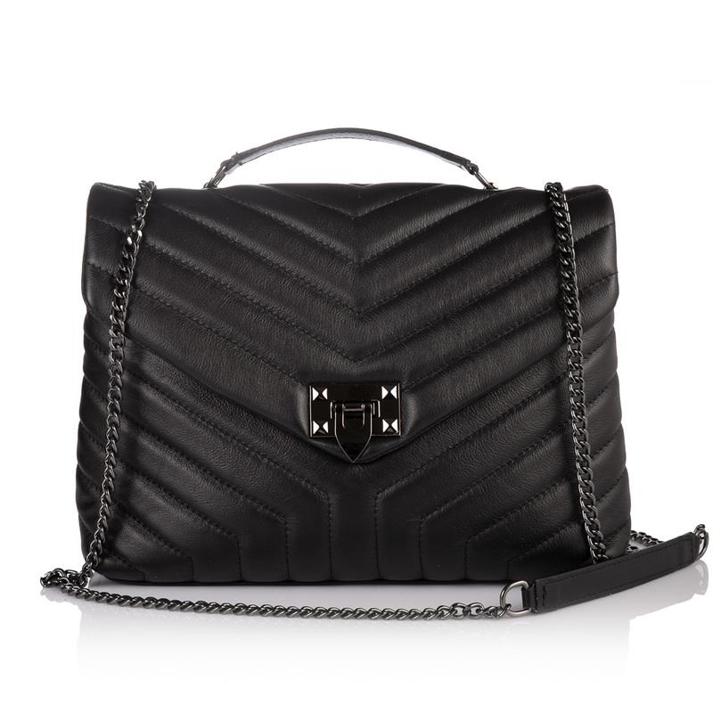 Кожаная женская сумка Virginia Conti (Италия) 17820 - фото 1