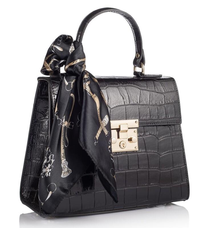 Кожаная женская сумка Virginia Conti (Италия) 17785 - фото 1