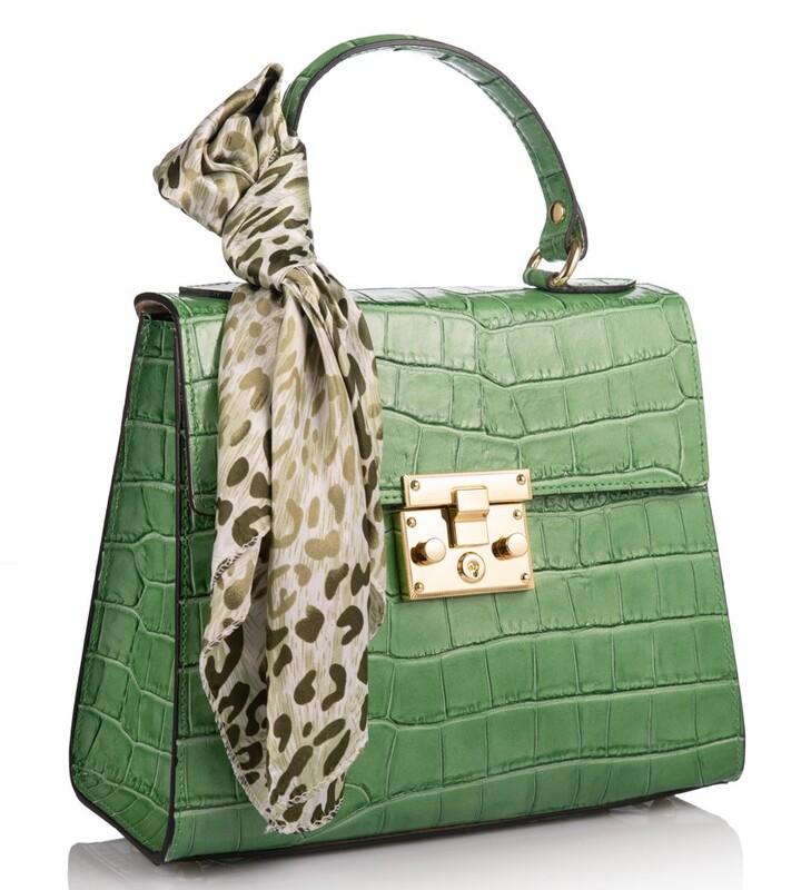 Кожаная женская сумка Virginia Conti (Италия) 17786 - фото 1
