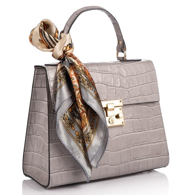 Кожаная женская сумка Virginia Conti (Италия) 17789 - фото 1