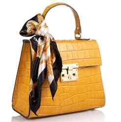 Кожаная женская сумка Virginia Conti (Италия)