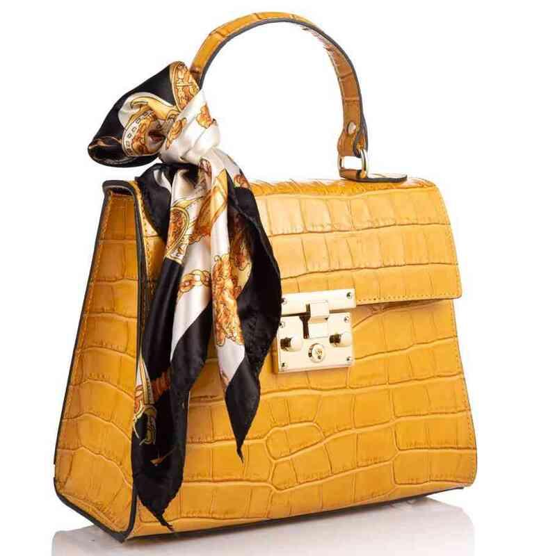 Кожаная женская сумка Virginia Conti (Италия) 17787 - фото 1