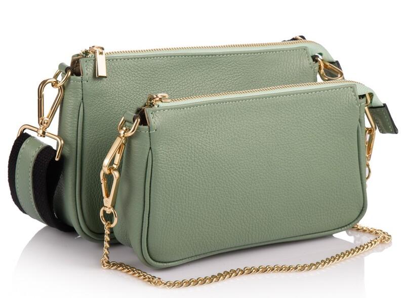 Кожаная женская сумка Virginia Conti (Италия) 17784 - фото 1