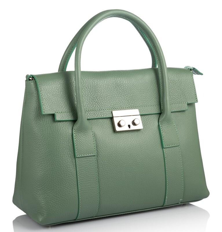 Кожаная женская сумка Virginia Conti (Италия) 17795 - фото 1