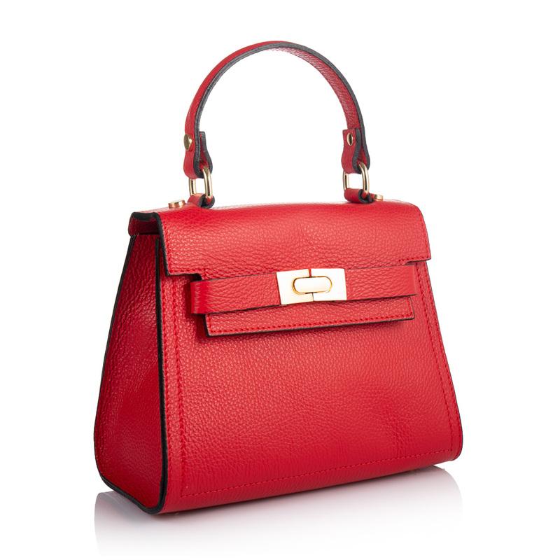 Кожаная женская сумка Virginia Conti (Италия) 17875 - фото 1