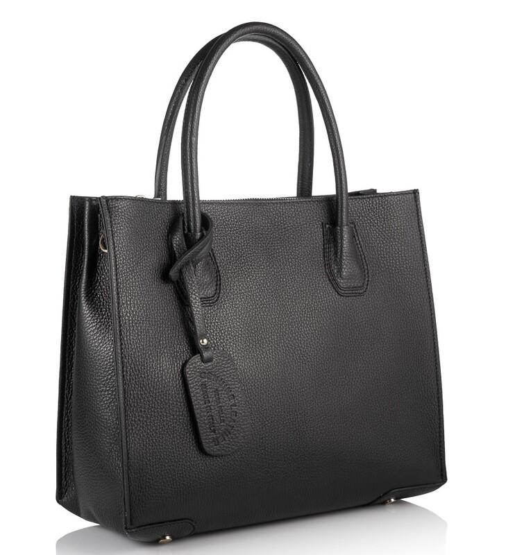 Кожаная женская сумка Virginia Conti (Италия) 17821 - фото 1