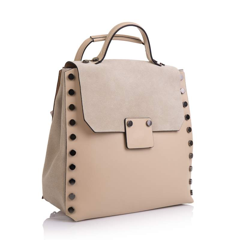 Женский кожаный рюкзак Virginia Conti (Италия) 13329 - фото 1