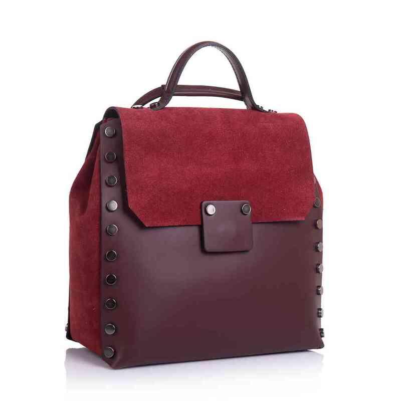 Женский кожаный рюкзак Virginia Conti (Италия) 13426 - фото 1