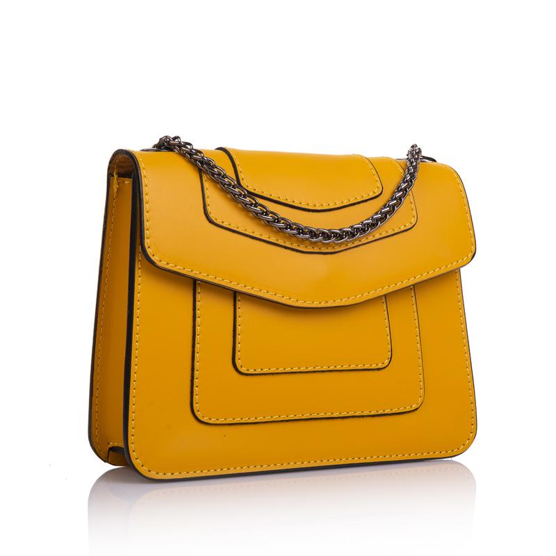 Кожаная женская сумка Virginia Conti (Италия) 13322 - фото 1