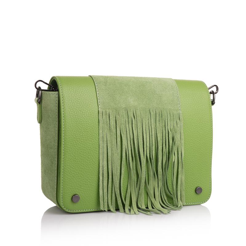 Кожаная женская сумка Virginia Conti (Италия) 13351 - фото 1