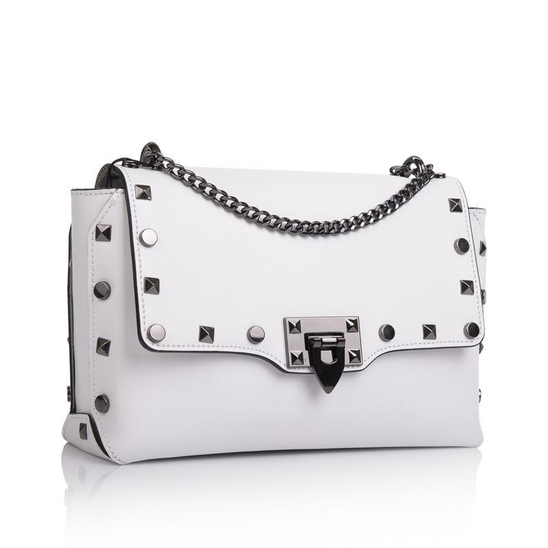 Кожаная женская сумка Virginia Conti (Италия) 13326 - фото 1