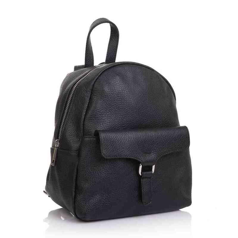 Женский кожаный рюкзак Virginia Conti (Италия) 13337 - фото 1