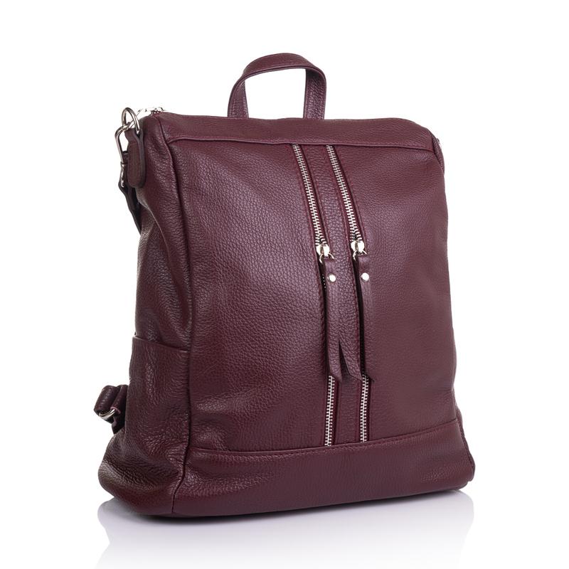 Женский кожаный рюкзак Virginia Conti (Италия) 13844 - фото 1