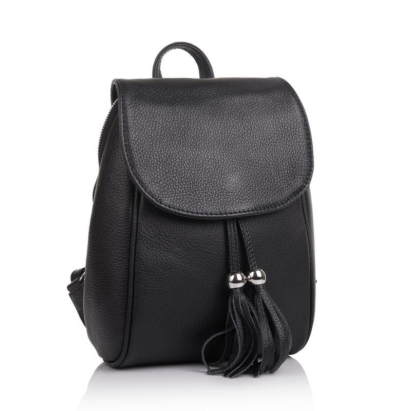 Женский кожаный рюкзак Virginia Conti (Италия) 13336 - фото 1