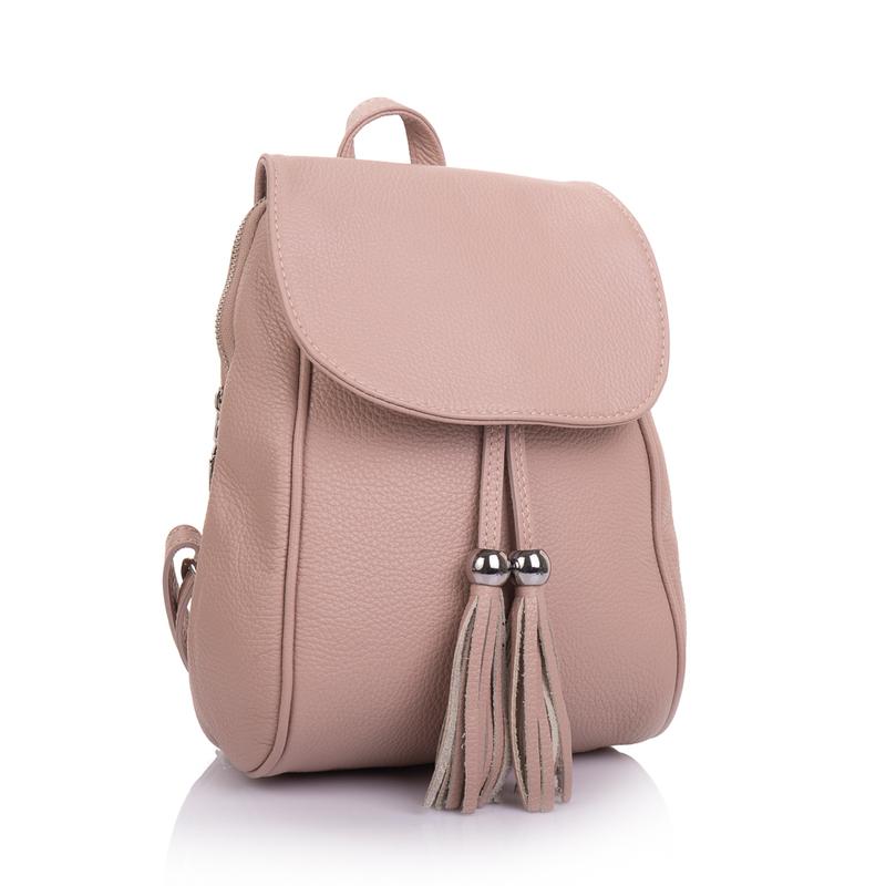 Женский кожаный рюкзак Virginia Conti (Италия) 13335 - фото 1