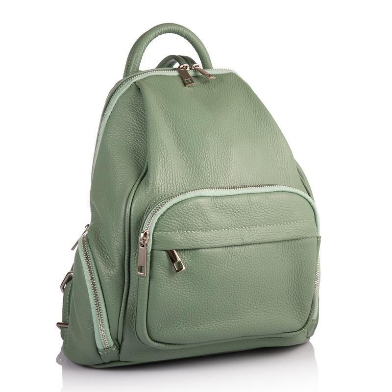 Женский кожаный рюкзак Virginia Conti (Италия) 17847 - фото 1