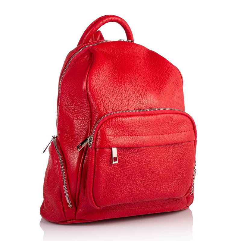 Женский кожаный рюкзак Virginia Conti (Италия) 17846 - фото 1