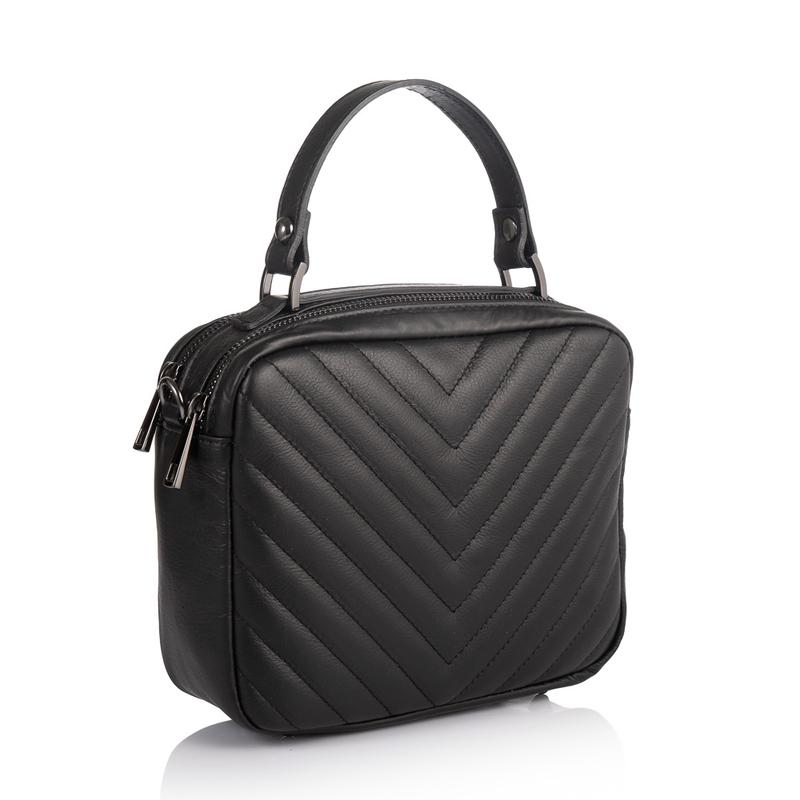 Кожаная женская сумка Virginia Conti (Италия) 17881 - фото 1