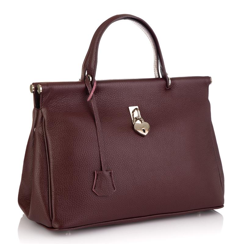 Кожаная женская сумка Virginia Conti (Италия) 19532 - фото 1