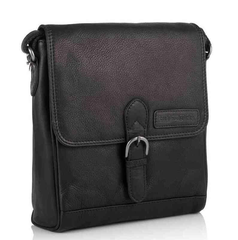 Кожаная сумка-мессенджер Hill Burry (Германия) 17815 - фото 1