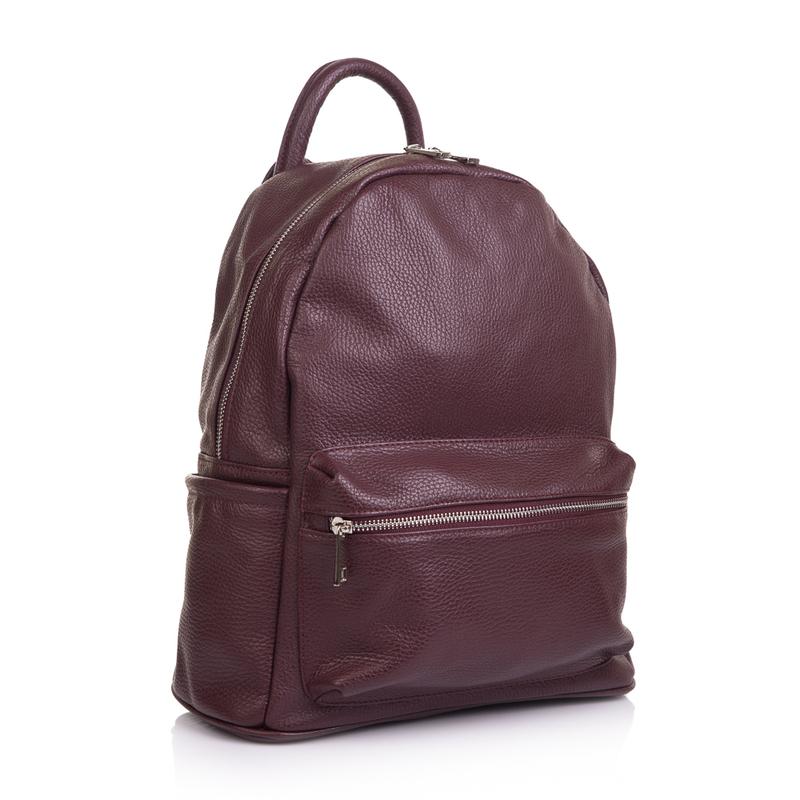 Женский кожаный рюкзак Virginia Conti (Италия) 13334 - фото 1