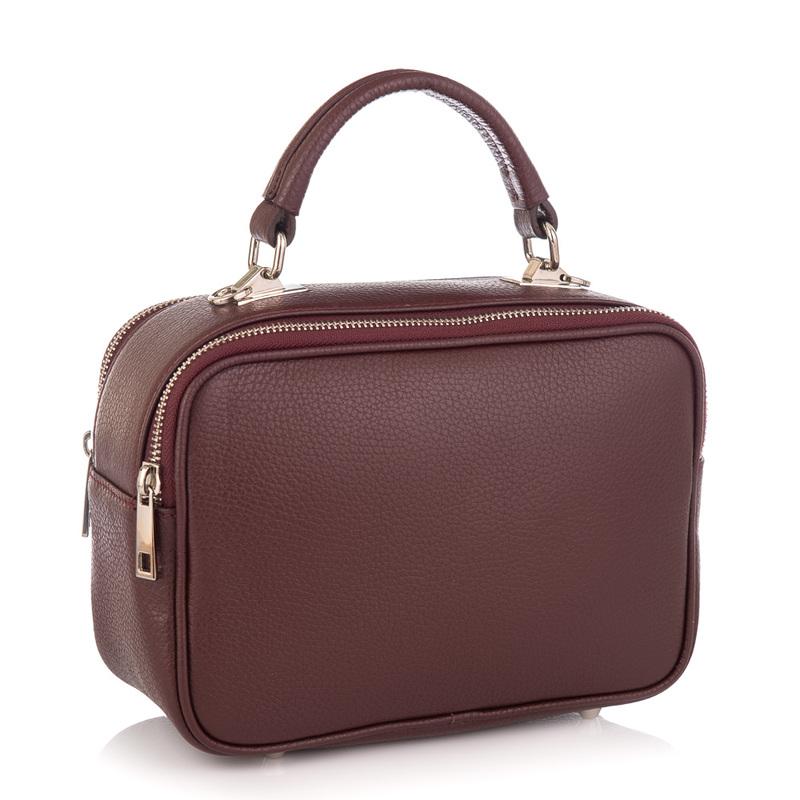 Кожаная женская сумка Virginia Conti (Италия) 19536 - фото 1