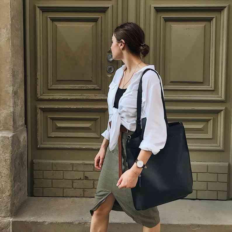 """Кожаная сумка-рюкзак Level """"Черепаха"""" 13746 - фото 1"""