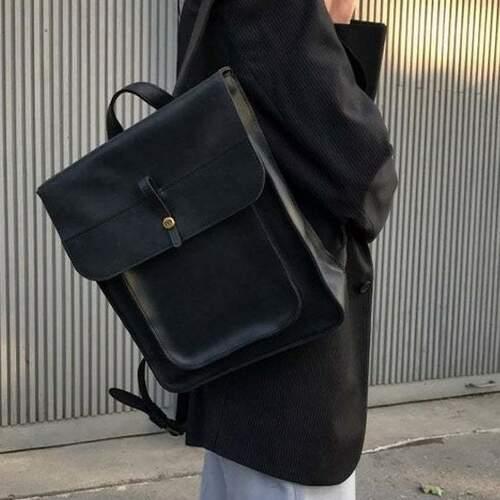 """Кожаный рюкзак Level """"Школьник"""" 13763 - фото 1"""