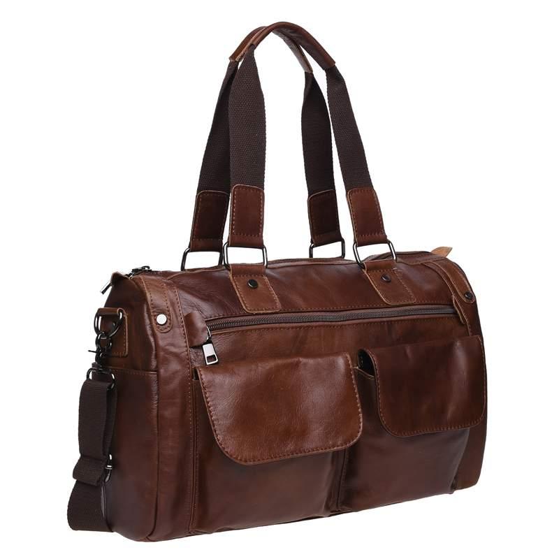 Мужская кожаная сумка Keizer 18439 - фото 1