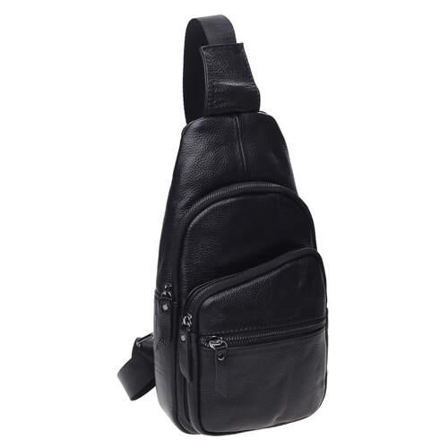 Мужской кожаный рюкзак через плечо Keizer 18496 - фото 1