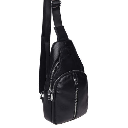 Мужской кожаный рюкзак через плечо Keizer 18485 - фото 1