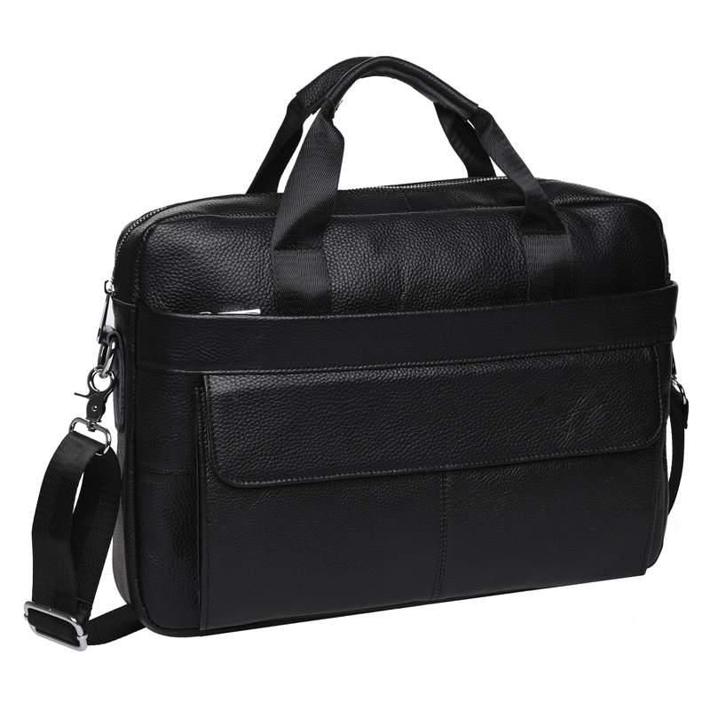 Мужская кожаная сумка Keizer 18441 - фото 1