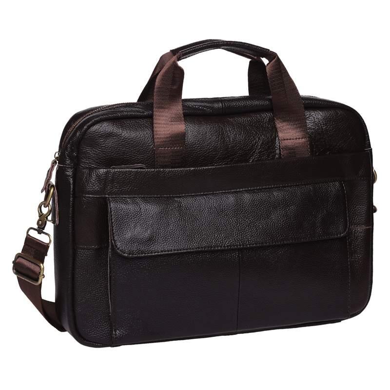 Мужская кожаная сумка Keizer 18442 - фото 1