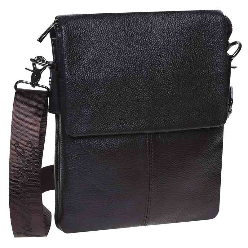 Мужская кожаная сумка Keizer 18444 - фото 1