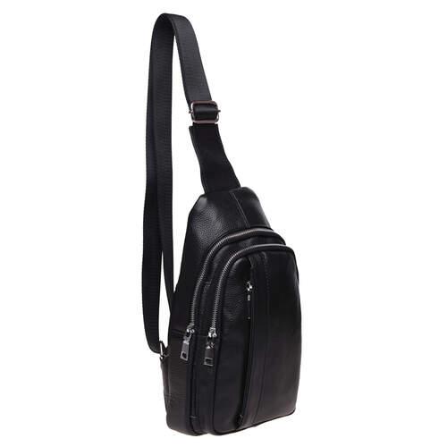 Мужской кожаный рюкзак через плечо Keizer 18497 - фото 1