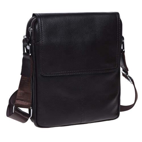 Мужская кожаная сумка Keizer 18446 - фото 1