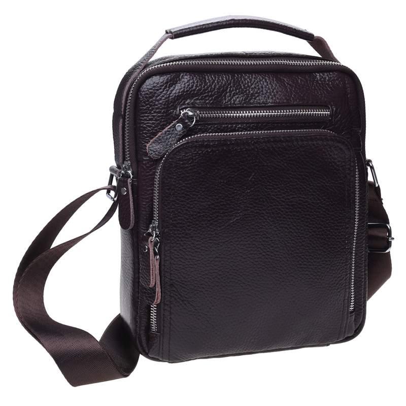 Мужская кожаная сумка Keizer 18448 - фото 1