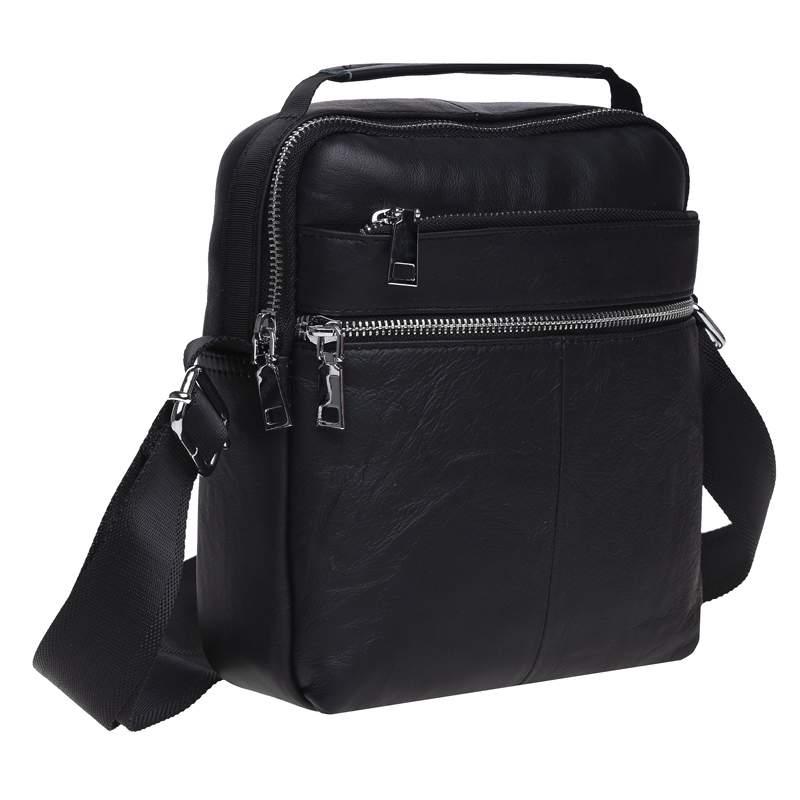 Мужская кожаная сумка Keizer 18449 - фото 1