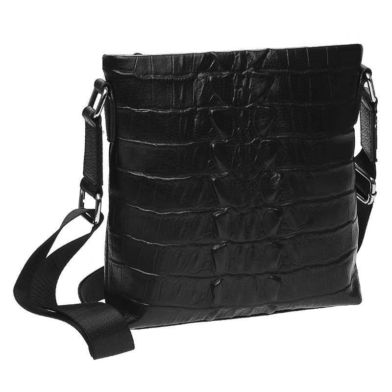 Мужская кожаная сумка Keizer 18467 - фото 1
