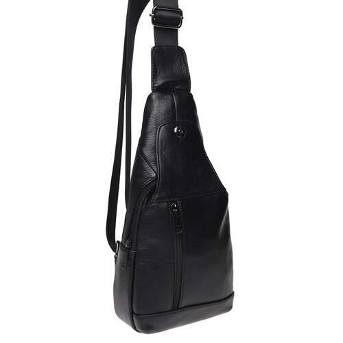 Мужской кожаный рюкзак через плечо Keizer 18492 - фото 1