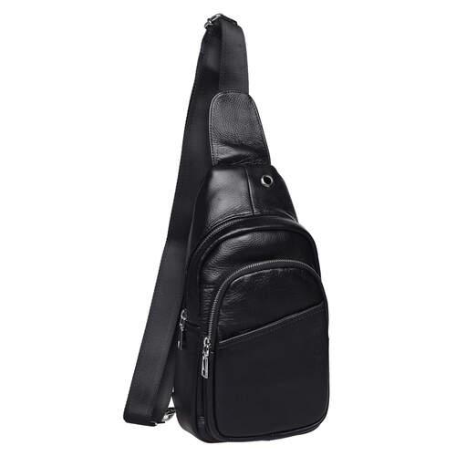 Мужской кожаный рюкзак через плечо Keizer 18494 - фото 1