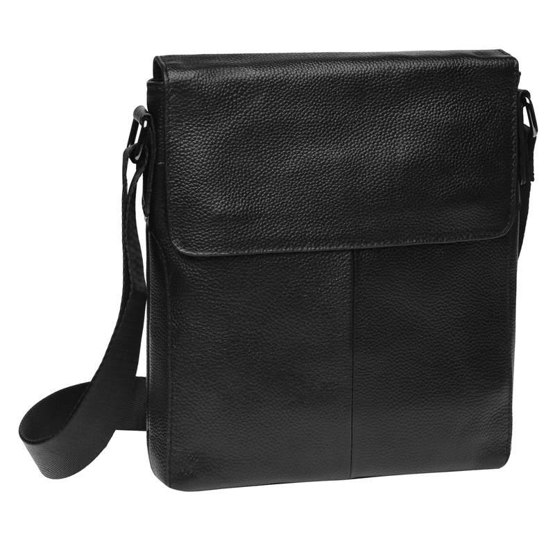 Мужская кожаная сумка Borsa Leather 18433 - фото 1