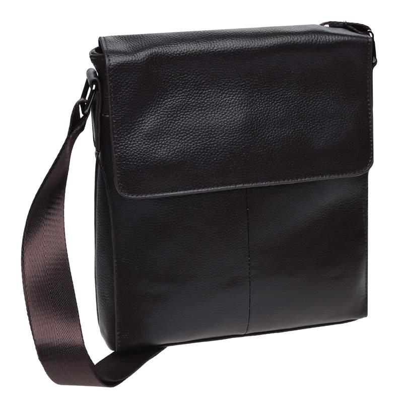 Мужская кожаная сумка Borsa Leather 18434 - фото 1