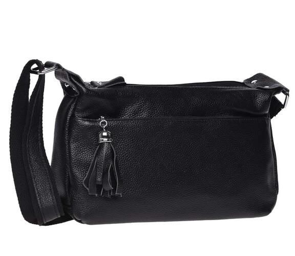 Кожаная женская сумка Keizer 18405 - фото 1