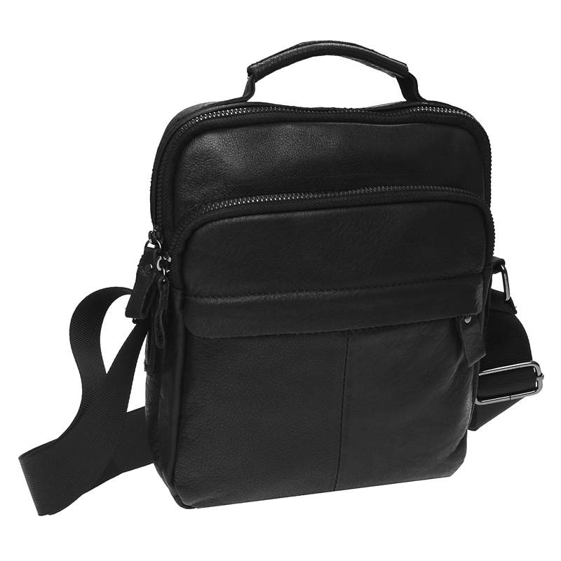 Мужская кожаная сумка Keizer 18458 - фото 1