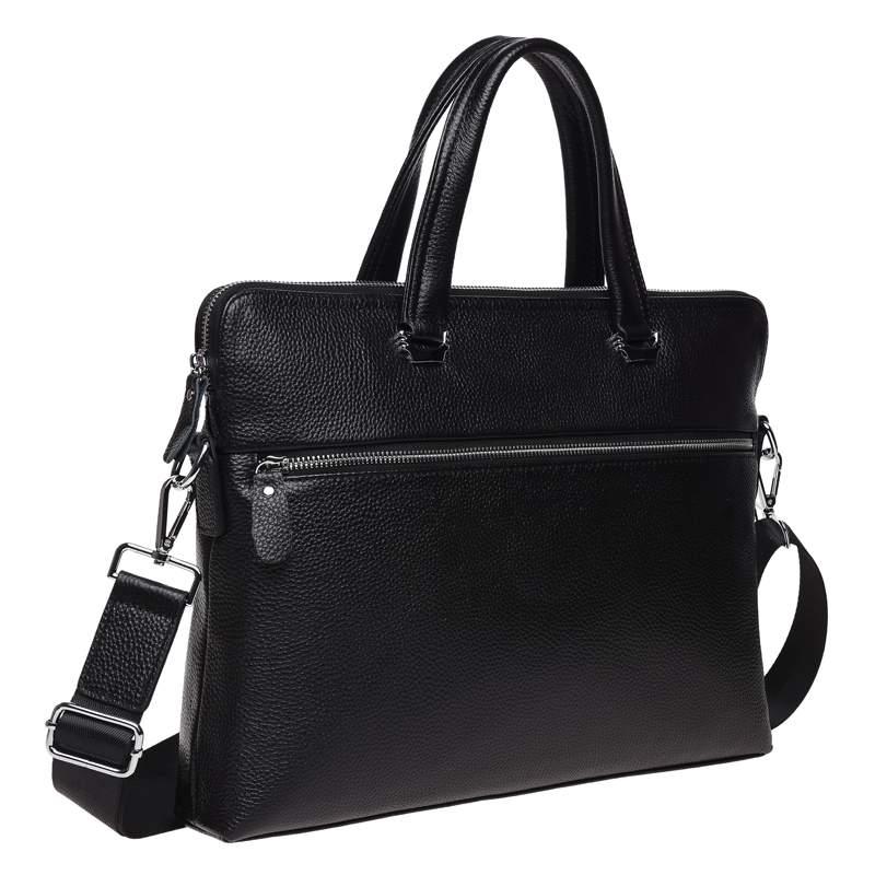 Мужская кожаная сумка Keizer 18459 - фото 1