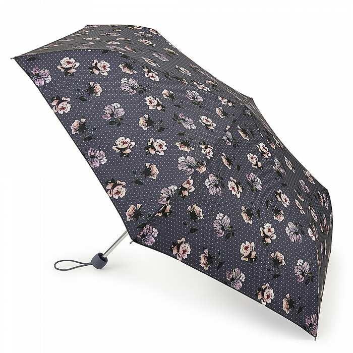 Зонт женский Fulton Superslim-2 L553 Flower Press (Гербарий) 13540 - фото 1