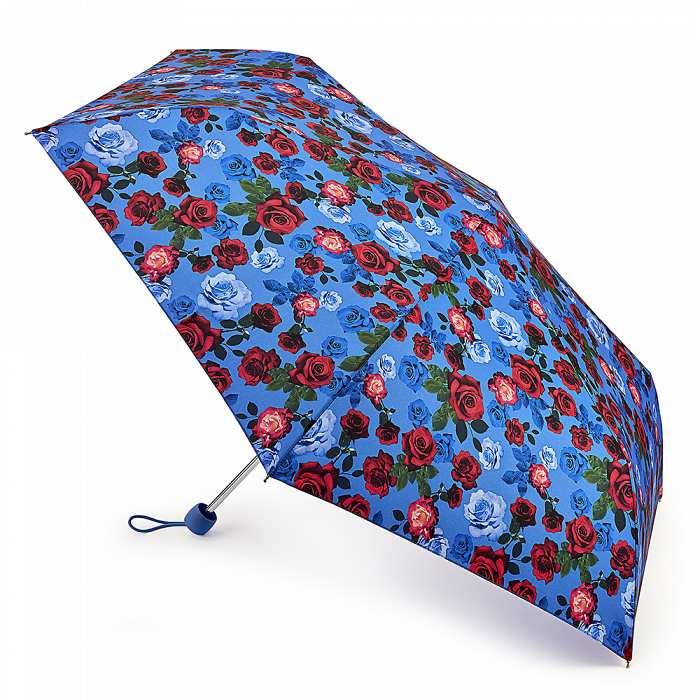Зонт женский Fulton Superslim-2 L553 English Rose (Английская роза) 13542 - фото 1