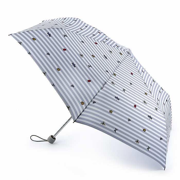 Зонт женский Fulton Superslim-2 L553 Bug Life (Насекомые) 13544 - фото 1