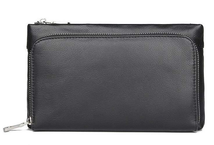 Мужской кожаный клатч Buffalo Bags 13870 - фото 1